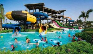 Cùng khám phá công viên nước Thanh Hà đẹp như công viên DisneyLand của Mỹ