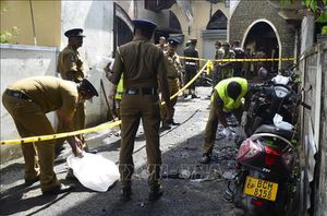 Cảnh sát trưởng Sri Lanka bị bắt giữ sau vụ đánh bom khiến 258 người thiệt mạng