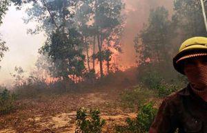 Khó xử lý người hút thuốc lá làm cháy 1 ha rừng