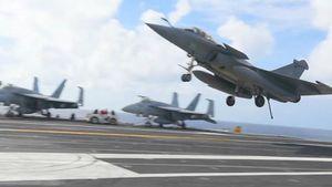 Sao chiến đấu cơ Pháp có thể hạ cánh trên tàu sân bay Mỹ?