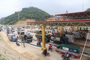 BOT Hòa Lạc - Hòa Bình tạm dừng thu phí dân quanh trạm