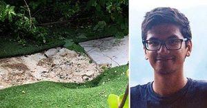Tắm nắng trong vườn nhà, thanh niên suýt chết bẹp vì thi thể từ trên trời rơi xuống