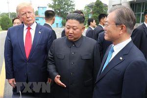 Người Hàn Quốc đánh giá tích cực cuộc gặp Hàn-Mỹ-Triều tại DMZ
