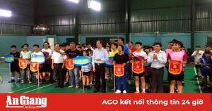 Hấp dẫn Giải cầu lông học sinh tỉnh An Giang