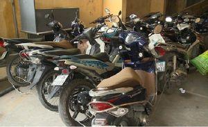 TP. Hồ Chí Minh: Bắt giữ 5 đối tượng trong đường dây trộm hàng chục xe máy