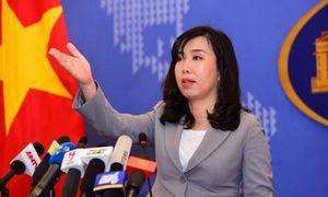 Việt Nam theo dõi sát việc Trung Quốc tập trận ở Biển Đông
