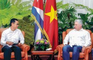 Việt Nam - Cuba: Hợp tác đa dạng, toàn diện và nhiều mặt