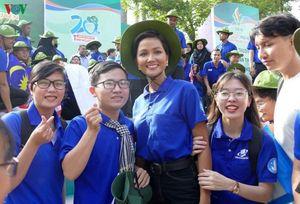 Hoa hậu H'Hen Niê làm đại sứ của chiến dịch Mùa hè xanh TP. HCM