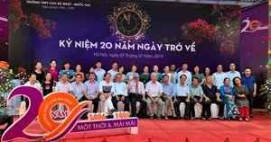 Hội khóa (1996 - 1999) Trường THPT Cao Bá Quát: 20 năm ngày trở về và nghĩa tình còn mãi!