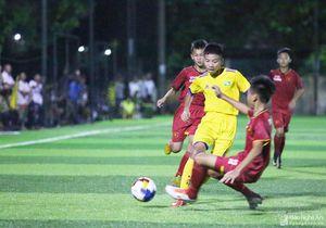 Vòng chung kết U13 toàn quốc: SLNA thắng đậm Sài Gòn