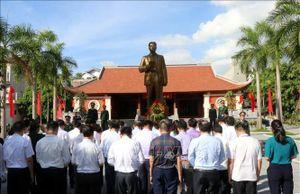 Dâng hương tưởng niệm 107 năm Ngày sinh Tổng Bí thư Nguyễn Văn Cừ