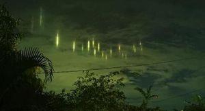 Những cột sáng bí ẩn lại xuất hiện trên bầu trời Philippines