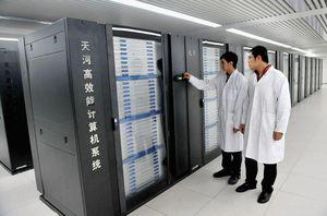 Trung Quốc đã xây dựng sáu trung tâm siêu máy tính quốc gia