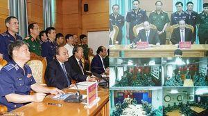 Thủ tướng làm việc với Bộ tư lệnh Cảnh sát biển