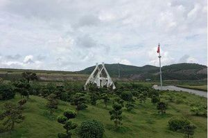 Quảng Ninh: Môi trường bị tàn phá xung quanh công viên nghĩa trang nghìn tỉ