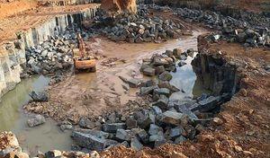 Bình Phước: Phát hiện mỏ khai thác đá trái phép quy mô 'khủng'
