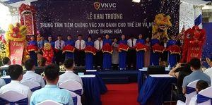 Khai trương trung tâm tiêm chủng vắc xin VNVC Thanh Hóa