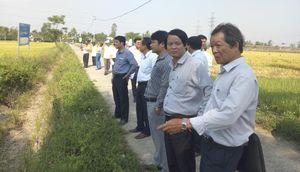 Tổ chức giám sát diện tích đất nông nghiệp bị ảnh hưởng bởi các dự án nông dân không sản xuất được