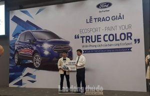 Trao giải cho 10 cá nhân xuất sắc nhất cuộc thi Ford EcoSport Paint Your 'True Color'