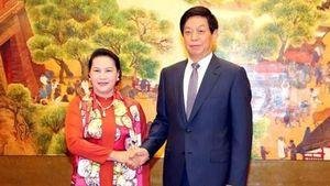 Hình ảnh hoạt động của Chủ tịch Quốc hội trong 5 ngày thăm Trung Quốc
