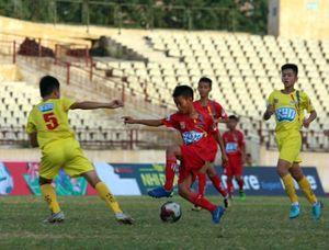 Chung kết Giải bóng đá thiếu niên toàn quốc: Đội SLNA vô địch thuyết phục