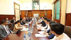Phó Chánh án TANDTC Nguyễn Trí Tuệ tiếp Điều phối viên thực thi quyền sở hữu trí tuệ của Hoa Kỳ