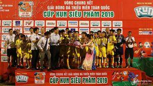 Sông Lam Nghệ An lần thứ 7 vô địch Giải Thiếu niên toàn quốc