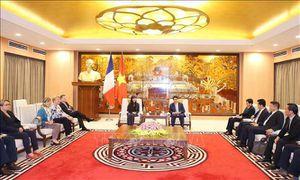 Hà Nội tăng cường hợp tác với Pháp trong phát triển giao thông, đô thị