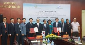 Hàn Quốc hỗ trợ Việt Nam 4,5 triệu USD cải thiện chuỗi giá trị lúa gạo ở Đồng bằng sông Hồng