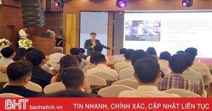 Shark Trần Anh Vương chia sẻ kinh nghiệm lập nghiệp với người trẻ Hà Tĩnh