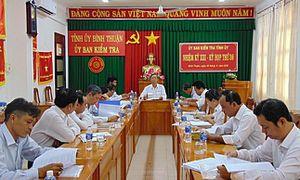 Kiểm tra vi phạm đất đai với 5 lãnh đạo TP Phan Thiết