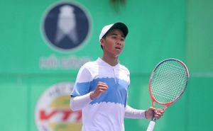 Tay vợt trẻ Minh Đức xuất sắc giành chức vô địch giải quần vợt trẻ U18 ITF