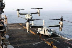 Đột nhập tàu đổ bộ Mỹ tung đòn hạ gục UAV Iram
