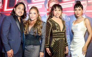 Vợ chồng Thanh Hà tình tứ, Hoài Sa hóa công chúa ngọt ngào trên thảm đỏ The Voice 2019