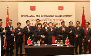 Việt Nam - Trung Quốc tăng cường hợp tác trong lĩnh vực kiểm toán công