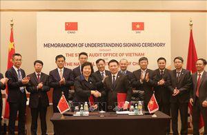 Kiểm toán nhà nước Việt Nam tăng cường hợp tác quốc tế