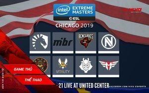Kết quả ngày thi đấu thứ nhất của CS:GO IEM Chicago 2019
