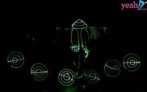 VBA chơi lớn đầu tư tiết mục Led Dance đã mắt vào giữa giờ