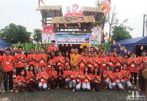 Thanh thiếu niên phật tử Nghệ An tham gia Hội trại 'Tuổi trẻ và Phật giáo' tại Hà Nội