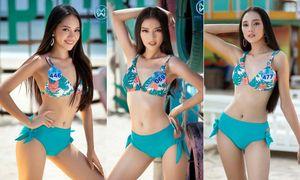Diện bikini nóng bỏng, thí sinh Miss World Vietnam khoe vóc dáng sexy hút mắt