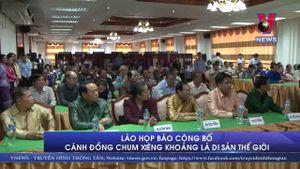 Cánh đồng Chum Xiêng-khoảng (Lào) được công nhận là Di sản thế giới