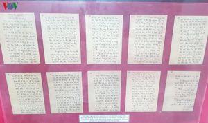 Những bản 'di chúc' thiêng liêng của người lính nơi Thành Cổ Quảng Trị