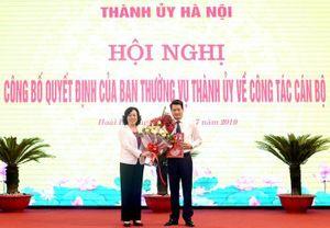 Hà Nội: Ông Nguyễn Quang Đức giữ chức Bí thư huyện ủy Hoài Đức