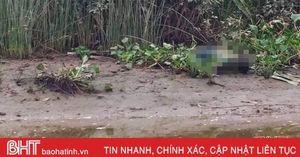 Phát hiện thi thể đang phân hủy bên rào nước ở Cẩm Xuyên
