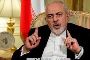 Mỹ áp đặt trừng phạt Ngoại trưởng Iran