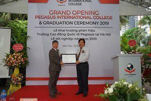 KinderWorld khai trương Phân hiệu Trường Cao đẳng Quốc tế Pegasus tại Hà Nội