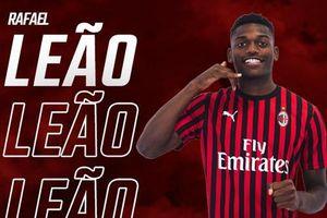 Rafael Leao chính thức trở thành tân binh thứ 3 của AC Milan