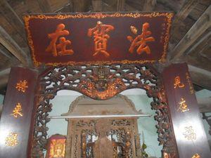 Minh văn của tiến sĩ Bồi Tụng Nguyễn Công Đổng ở Văn Miếu phủ Vĩnh Tường