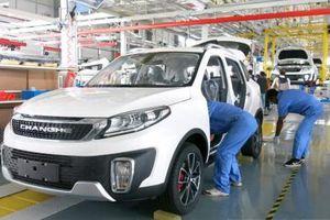 Liên doanh ô tô Trung Quốc-Myanmar trình làng ô tô lắp ráp đầu tiên