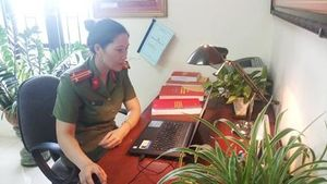 Trung tá Phùng Thị Mai: Nữ công an tiêu biểu